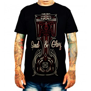La Marca Del Diablo - Speed & Glory T-Shirt Front