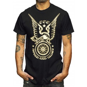La Marca Del Diablo - Speed and Glory 666 T-Shirt Front