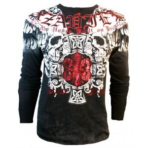 Xzavier - Stone Free Skulls Longsleeve T-Shirt