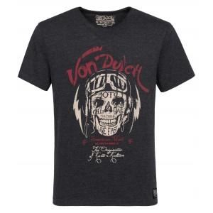 Von Dutch - Biker Skull T-Shirt