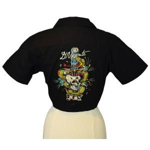 David Vicente - Dagger Skull Hemd