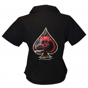 David Vicente - Ace of Spade Work Shirt
