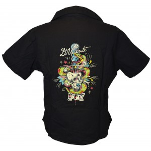David Vicente - Dagger Skull Work Shirt