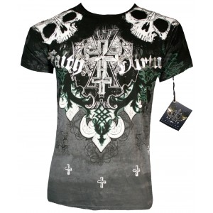 Xzavier - Faith & Virtue Skull T-Shirt Front