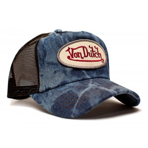Von Dutch - Blue Denim Mesh Trucker Cap