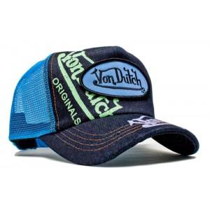 Von Dutch - Denim Signature Mesh Trucker Cap