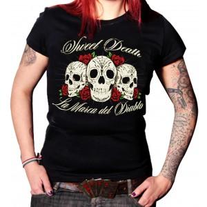 La Marca Del Diablo - Sweet Death Skulls T-Shirt Front