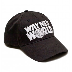 Retro Cap - Wayne´s World Snapback Movie Cap Front