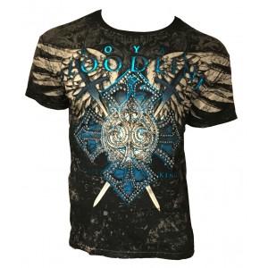 Xzavier - Bloodsport Rhinestones/Strass T-Shirt