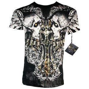 Xzavier - Cross my Bones Skulls T-Shirt