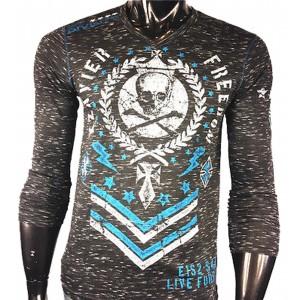 Xzavier - LIMITED Forever Skull Longsleeve T-Shirt