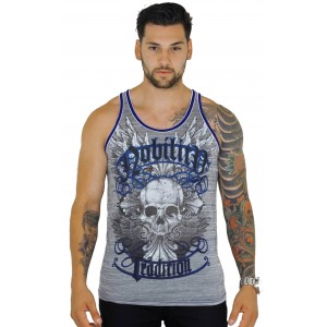 Xzavier - Glory Skull Tank Top Shirt