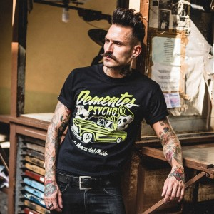 La Marca Del Diablo - Dementes Psycho T-Shirt