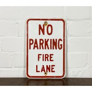 No Parking Fire Lane Verkehrsschild