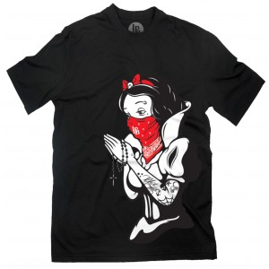 Lucky Bastards - Praying for Death T-Shirt Front