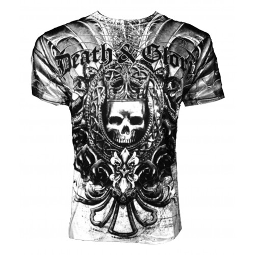 Xzavier - Death Glory T-Shirt Front
