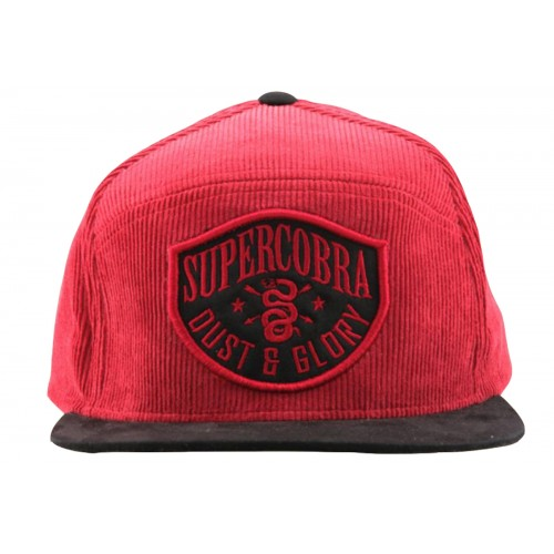 Supercobra Clothing Company - Dust & Glory Cord Snapback Cap Front