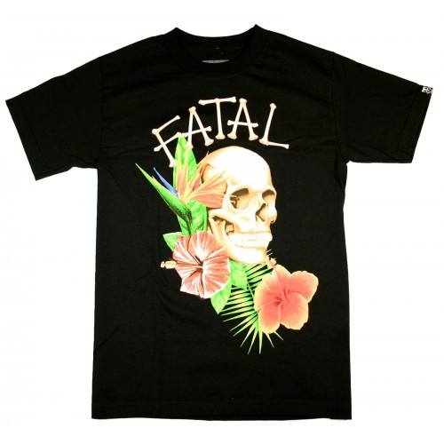 Fatal Clothing - Paradise Skull T-Shirt Front