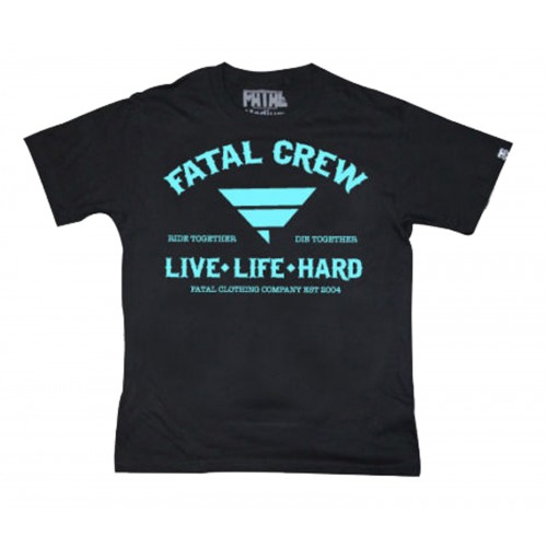 Fatal Clothing - Live Life Hard T-Shirt Front