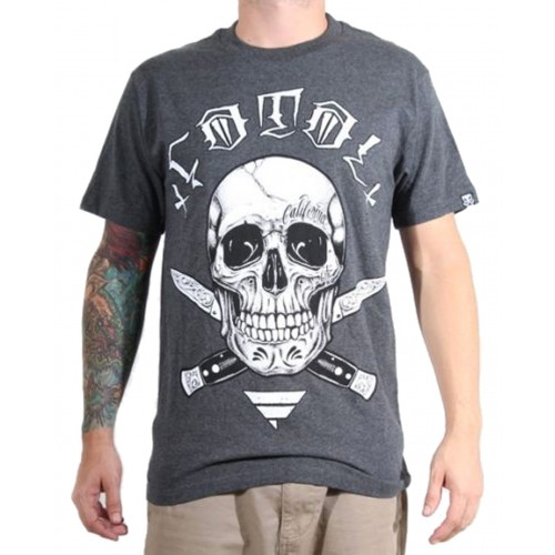 Fatal Clothing - Switchblade Skull T-Shirt Front
