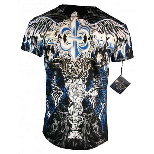 Xzavier - Royal Fleur de Lis T-Shirt Back