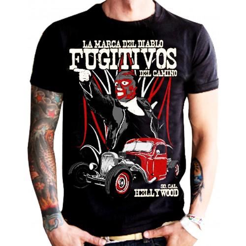 La Marca Del Diablo - Fugitivos T-Shirt Front