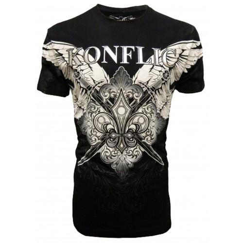 Konflic Clothing - Winged Motif T-Shirt