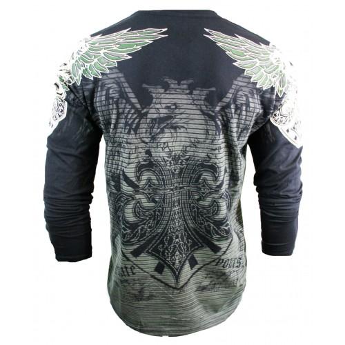 Xzavier - Night Flight Longsleeve T-Shirt Back