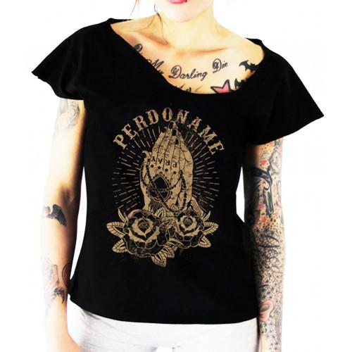 La Marca Del Diablo - Perdoname T-Shirt Front