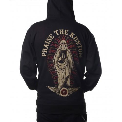 La Marca Del Diablo - Praise the Kustom Zipper Hoodie Back