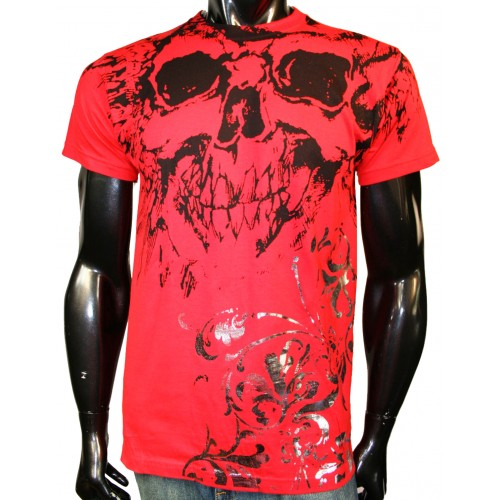 Konflic Clothing - Royal Skull T-Shirt Front
