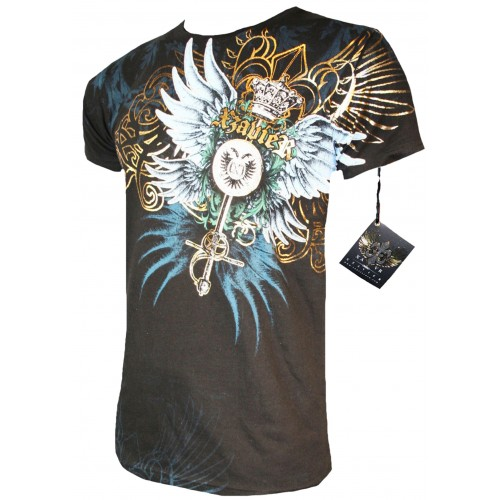 Xzavier - Royal Wings T-Shirt Front