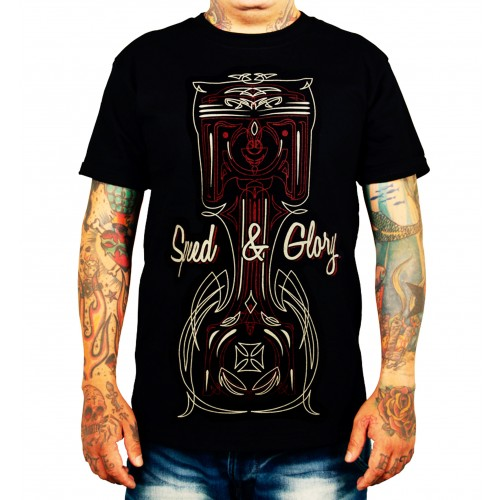 La Marca Del Diablo - Speed & Glory T-Shirt Front