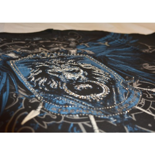 Xzavier - Royalty Rhinestones/Strass T-Shirt Detail