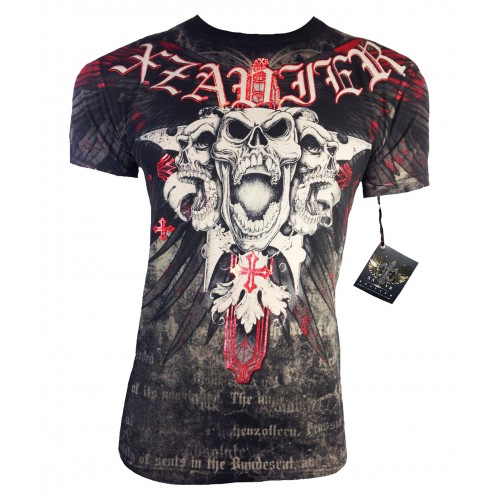 Xzavier - King Skull T-Shirt Front