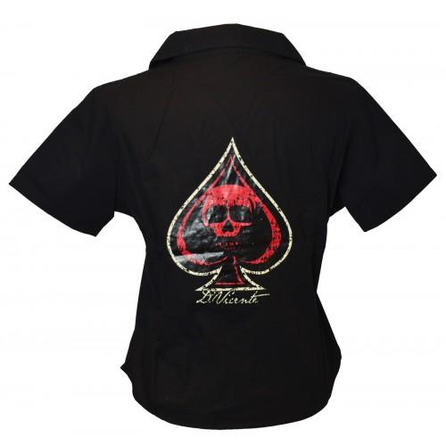 David Vicente - Ace of Spade Work Shirt