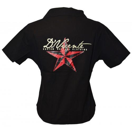 David Vicente - Star Kustom Klothing Work Shirt
