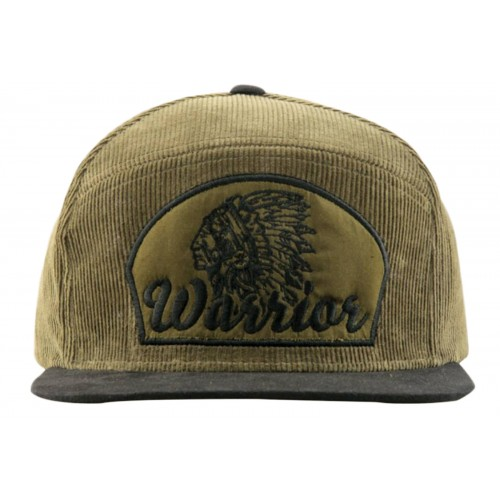 Supercobra Clothing Company - Warrior Snapback Cap Front