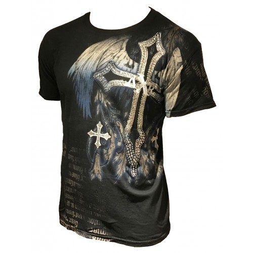 Xzavier - Madhouse Blues Rhinestones/Strass T-Shirt