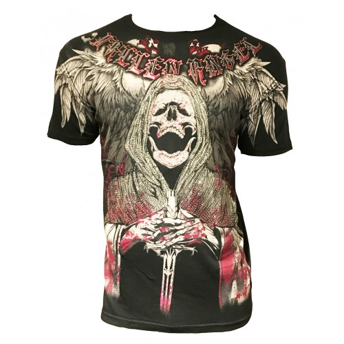 Xzavier - The Reaper Rhinestones/Strass T-Shirt