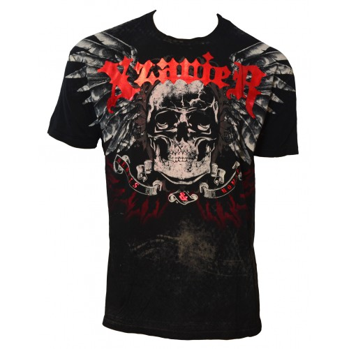 Xzavier - Rebel Skulls T-Shirt