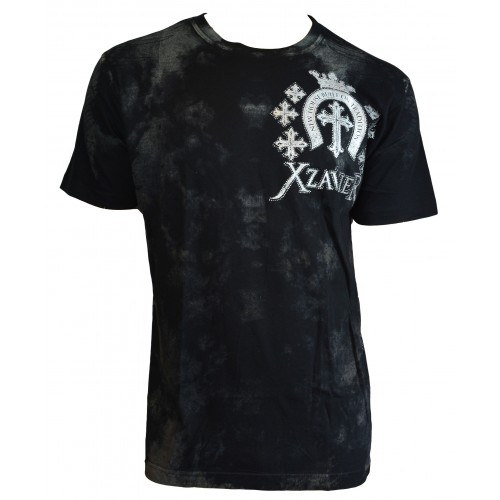 Xzavier - Tradition Wings Rhinestones/Strass T-Shirt