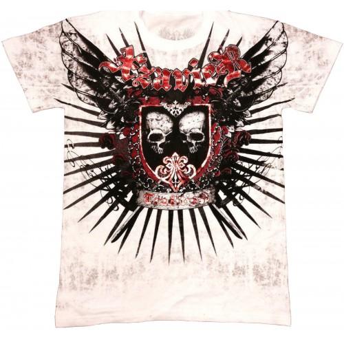 Xzavier - Skull Shied T-Shirt