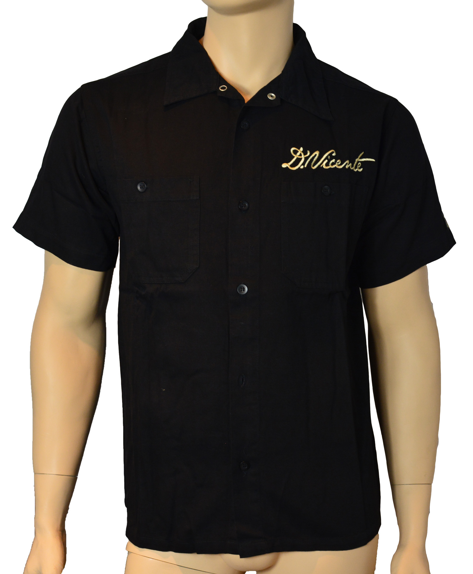 Home Ward Work Shirt Camicia Camicia Da Lavoro Birds Tatuaggio Rockabilly in David Vicente