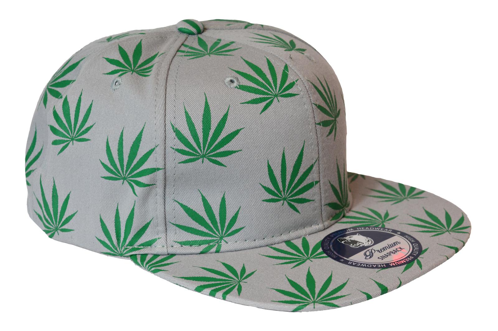 PREMIUM CAP SNAPBACK HAT KAPPE HANF MARIJUANA POT HIP HOP  Premium WEED SERIES